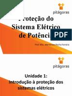 Proteção do Sistema Elétrico de Potência - Aula 1