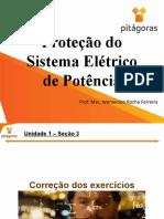 Proteção do Sistema Elétrico de Potência - Aula 4