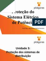 Proteção do Sistema Elétrico de Potência - Aula 8.pptx
