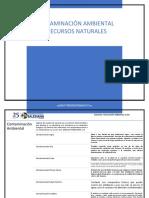 CONTAMINACIÓN AMBIENTAL Y RECURSOS NATURALES