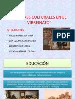 Valores Culturales en El Virreinato