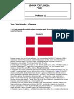 7.ºano - Texto informativo - Dinamarca.doc