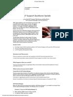 SAP Support Backbone Update