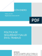 Presentación 01 - Política Seguridad y RISST