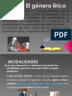 PPT_GÉNERO LÍRICO_CARACTERÍSTICAS