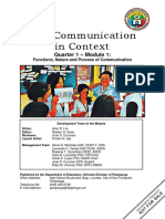 Oral-Communication-in-Context_Q1_Mod1_FUNCTIONS-NATURE-AND-PROCESS-OF-COMMUNICATION