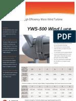 YWS-500 flyers