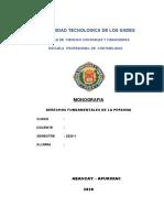 DERECHO FUNDAMENTAL DE LA PERSONA 1
