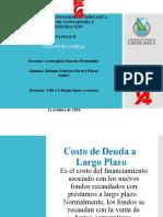 COSTOS DE CAPITAL 7.1