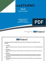 BN-20 Apresentação. Setembro 2012 V1.5 Creative Center Roland DG Corporation