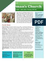 st germans newsletter - 11 october 2020  trinity 18  ot28