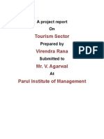 A project report on tourism-2003