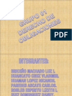 Diapositiva Obligaciones Grupo 1 Unidad I