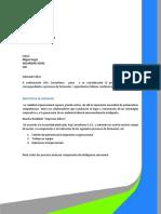 PROPUESTA TALLER FORMACION SER. AL CLIENTE- SENTIDO DE PERTENENCIA