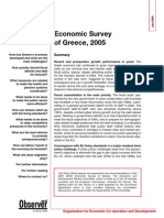 Economic Survey ON GREECE