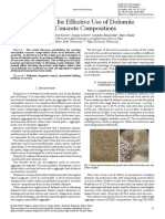 [22558551 - Construction Science] Prospects for Effective Use of Dolomite in Concrete Compositions.pdf