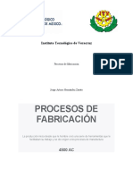 LINEA DEL TIEMPO DE PROCESOS DE FABRICACIÓN