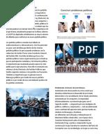 PROBLEMAS POLITICOS DE GUATEMALA