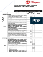 LISTA DE VERIFICACION DE LINEAMIENTOS DEL SISTEMA DE GESTION DE SEGURIDAD Y SALUD EN EL TRABAJO.docx