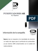 PRESENTACIÓN AK PURIFIER (DISTRIBUIDORES 1)