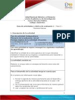 Guía de actividades y rúbrica de evaluación  – Paso 0 – Nociones básicas