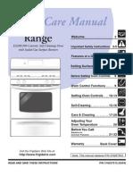 Stove Manual