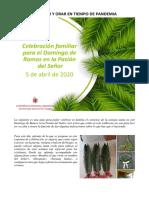 CELEBRAR Y ORAR EN TIEMPO DE PANDEMIA - Domingo de Ramos 05-04-20.pdf