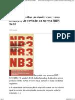 Curtos-circuitos assimétricos_ uma proposta de revisão da norma NBR 5410