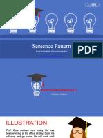 Sentence Pattern Lesson 2
