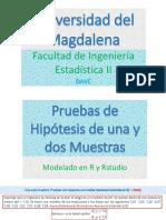 Presentación -- Pruebas de Hipotesis con R- 2020 -- 01