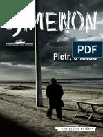 Georges Simenon - Pietr o Letão