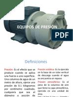 4. EQUIPOS DE PRESIÓN