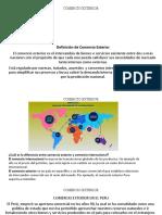 COMERCIO EXTERIOR CLASE 1-2-3-4