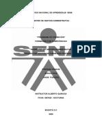 GESTIÓN DE FORMACIÓN PROFESIONAL INTEGRAL GRUPO 6