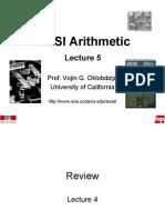 VLSI Arithmetic-Lect-5