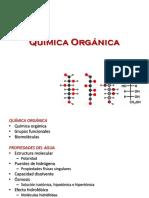 3. Química Orgánica, Biomoléculas y Propiedades del Agua