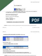 tarifs courriel et calendrier 2011