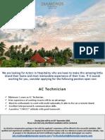 Job Flash - AC Technician