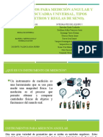 Instrumentos para medición angular y lineal (1)