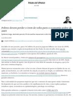 Pobres devem perder o trem de volta para a economia pobre de 2019 - 05_09_2020 - Vinicius Torres Freire - Folha.pdf