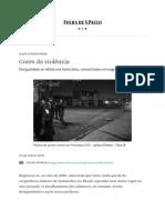 Cores da violência - 29_08_2020 - Opinião - Folha