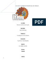 INVESTIGACION DE AGROCLIMATOLOGIA