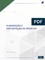Elaboração e implantação de projeto - Aula2