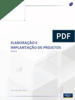 Elaboração e implantação de projeto - Aula3