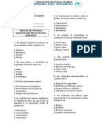 EVALUACION BIOLOGIA  GRADO SEPTIMO CUARTO PERIODO
