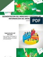 SEGMENTACION DEL MERCADO Y SISTEMAS DE INFORMACION DEL