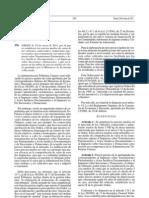 Orden Precios Medios Vehiculos Comerciales Ligeros 2011
