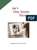 Karma's Dirty Secrets Memoir