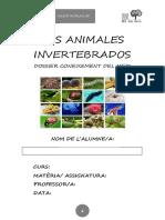 Dossier Invertebrados