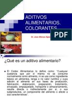 SEMANA 12- TOXICOLOGIA ALIMENTARIA - EPT- ADITIVOS ALIMENTARIOS -COLORANTES ALF APESTEGUIA